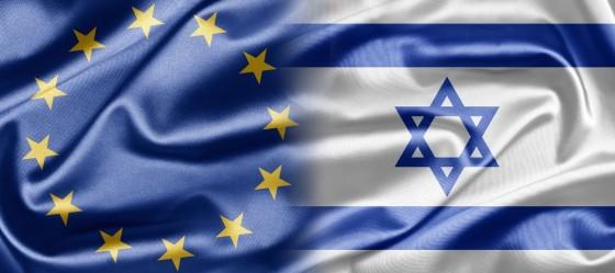 Israel-EU-flags