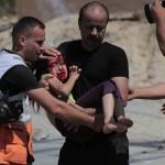 driejarig kind beschoten